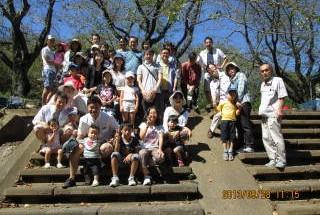 ポレスター長泉シティコート バーベキュー大会 2013年9月28日開催