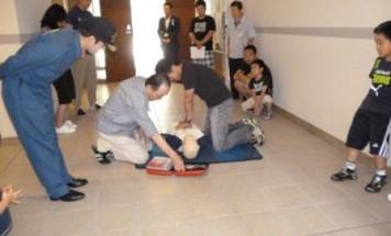 ポレスター高尾 AED講習会 2013年6月9日開催