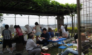 ポレスター本厚木 バーベキュー大会 2013年6月9日開催