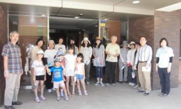 ポレスターステーションシティ本庄 第2回花壇づくり会 2015年6月6日開催