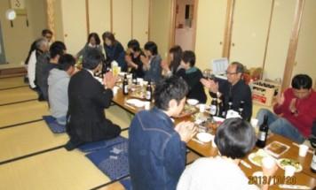 シーズガーデン長野城山 懇親会 2013年10月20日開催