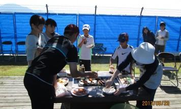 ポレスター高田 バーベキュー大会 2013年9月29日開催