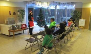 ポレスターアーバンシティ広島 クリスマスツリー飾り付け会 2013年12月7日開催