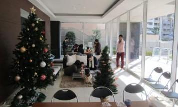 ポレスタータワー大手町リーモ クリスマス会 2013年12月7日開催