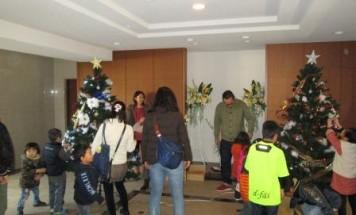 ポレスターブロードシティ高須町 クリスマスイベント 2013年12月14日開催