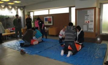 ポレスター本厚木 防災訓練 2013年11月17日開催