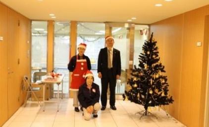 3人のサンタからメリークリスマス☆