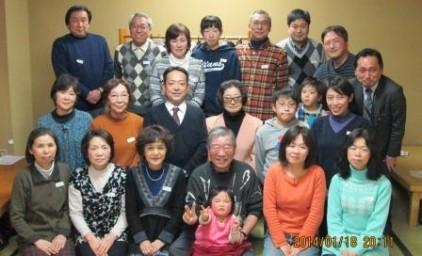 家族写真のようです。
