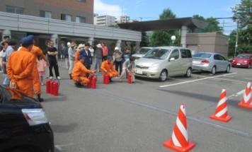ポレスター旭川 消防訓練 2014年6月22日開催