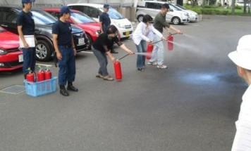 ポレスター本町 消防訓練 2014年6月29日開催