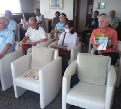 ポレスターステーションシティ小山 電話詐欺防止講習会 2014年9月13日開催