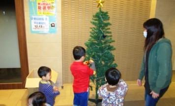 ポレスター光の森 クリスマス装飾会 2014年12月9日開催