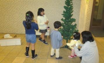 ポレスターリバービュー川原町 クリスマス装飾会 2014年12月10日開催