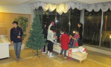 ポレスターアーバンシティ広島 クリスマスツリー装飾会 2014年12月11日開催