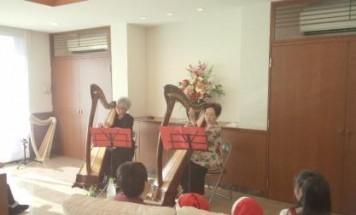 ポレスターステーションシティ赤塚 クリスマス演奏会 2014年12月13日開催