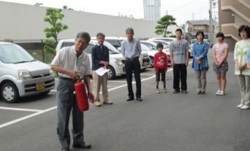 グランドール今治弐番館 消防訓練 2015年5月23日開催