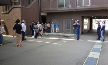 ポレスター駅西本町 防災避難訓練 2015年5月31日開催