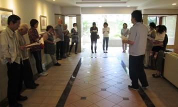 ポレスターレイクシティ諏訪弐番館 防災訓練 2015年6月20日開催