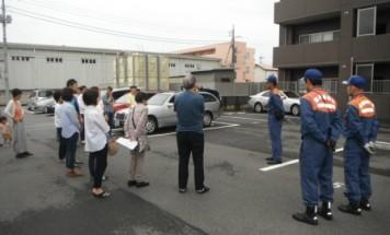 ポレスター前橋南町 消防避難訓練 2015年7月5日開催