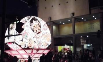 ポレスターセントラルシティ弘前 ねぷた祭り観覧会 2015年8月2日開催