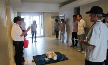 ポレスター松山フォレストシティ AED説明会 2015年10月4日開催