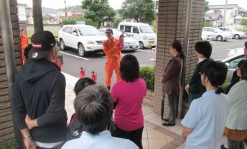ポレスター鶴町公園 防災訓練 2015年11月14日開催