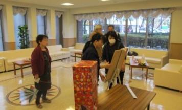 ポレスターアーバンシティ広島 クリスマス会2015年12月23日開催
