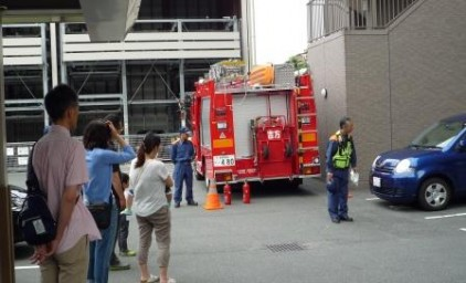 今年も消防訓練が始まりました!