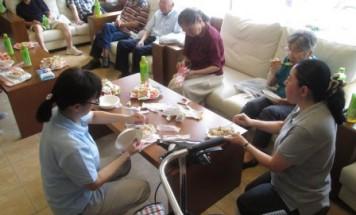 ポレスター六条通 茶話会兼非常食試食会 2016年9月3日開催
