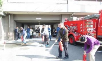 ポレスター安芸矢口 消防訓練 2016年11月5日開催
