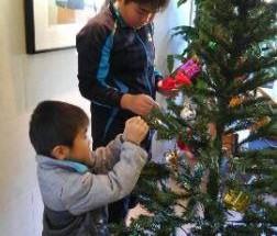 グランドール大岡公園 クリスマス飾り付け会 2016年12月3日開催