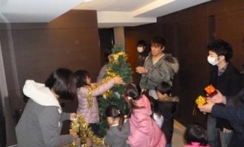 ポレスター大宮桜木町 クリスマスツリー飾り付け会 2016年11月27日開催