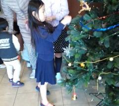ポレスター宇都宮中央 クリスマスツリー飾り付け 2016年12月10日開催