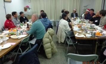 ロイヤルヴァンベール矢板 クリスマス懇親会 2016年12月17日開催