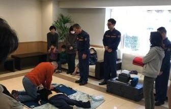 ポレスターステーションシティ金沢 防災訓練・AED講習 2017年3月19日開催