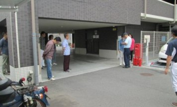 シーズガーデン長野城山 消防避難訓練 2017年6月18日開催