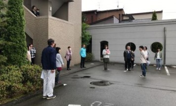 ポレスター飛騨高山 防災訓練 2017年5月13日開催