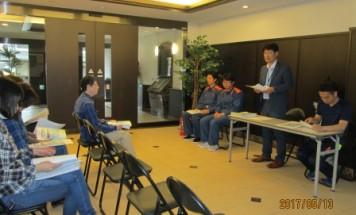 ポレスター伊賀上野 防災訓練・防災研修会 2017年5月13日開催