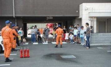 ポレスターけやきレジデンス 消防避難訓練 2017年7月9日開催