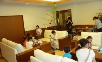 ポレスター飯能 七夕飾り付け会 2017年7月1日開催