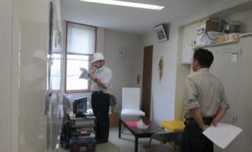 ポレスターブロードシティ富士宮 防災訓練 2017年7月29日開催