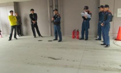 消防署員による講話
