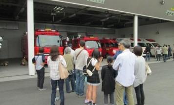 ポレスターステーションシティ本庄 中央消防署見学会 2018年5月12日開催