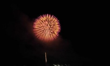セシーズ弘前公園 花火観覧会 2018年8月20日開催