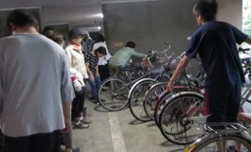 グランドール今治 自転車入れ替え 2018年7月8日実施