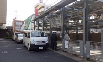 ポレスターステーションシティ桜木町 機械式駐車場部品交換作業 2019年2月12日~20日実施